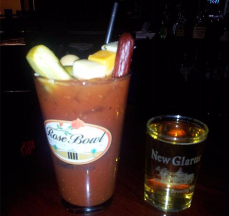 bloody mary and beer chaser, Bloody Mary